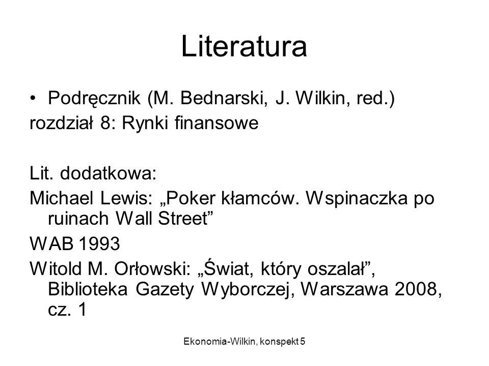 Ekonomia-Wilkin, konspekt 5