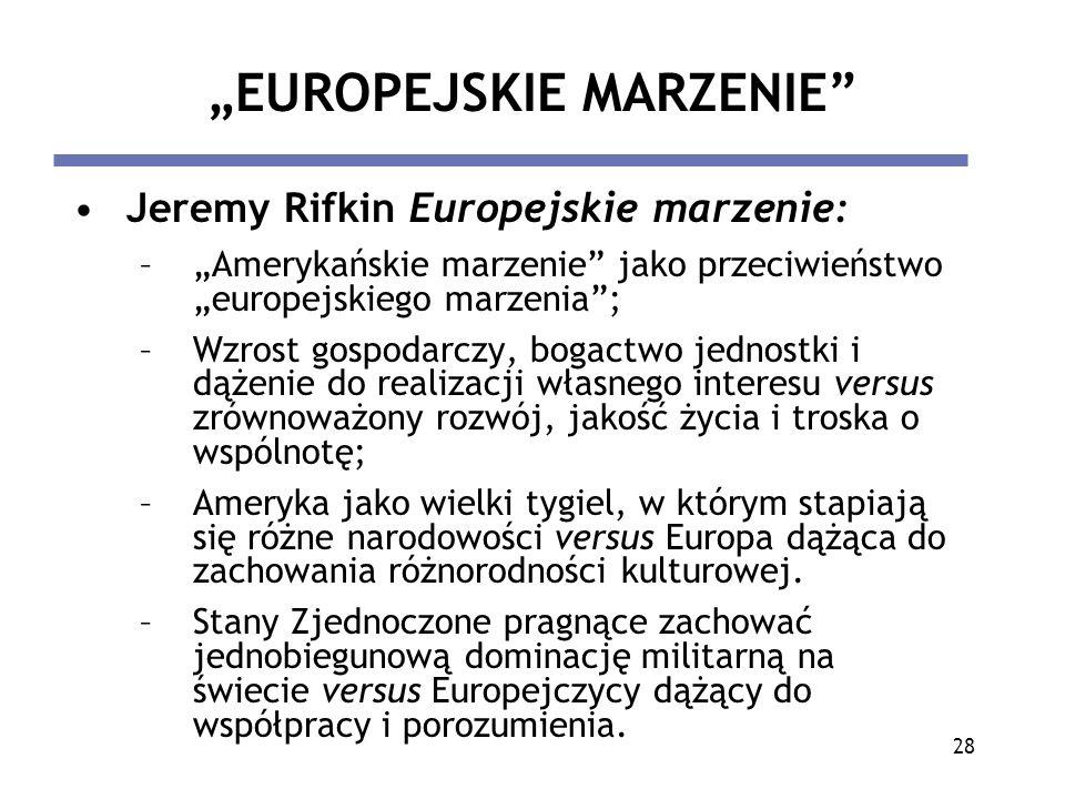 """""""EUROPEJSKIE MARZENIE"""