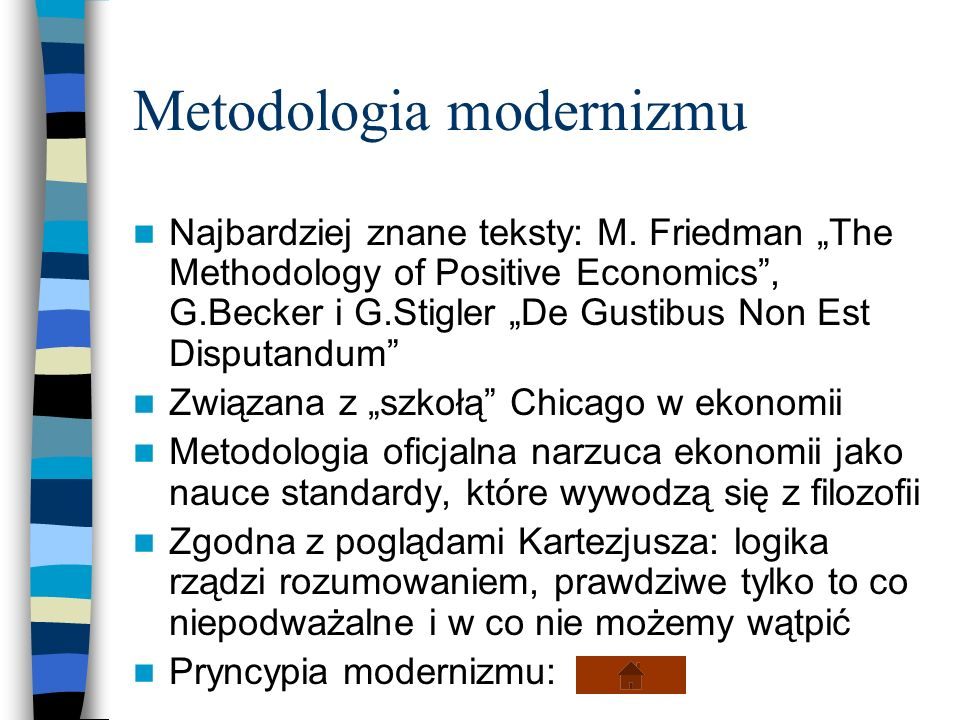 Metodologia modernizmu