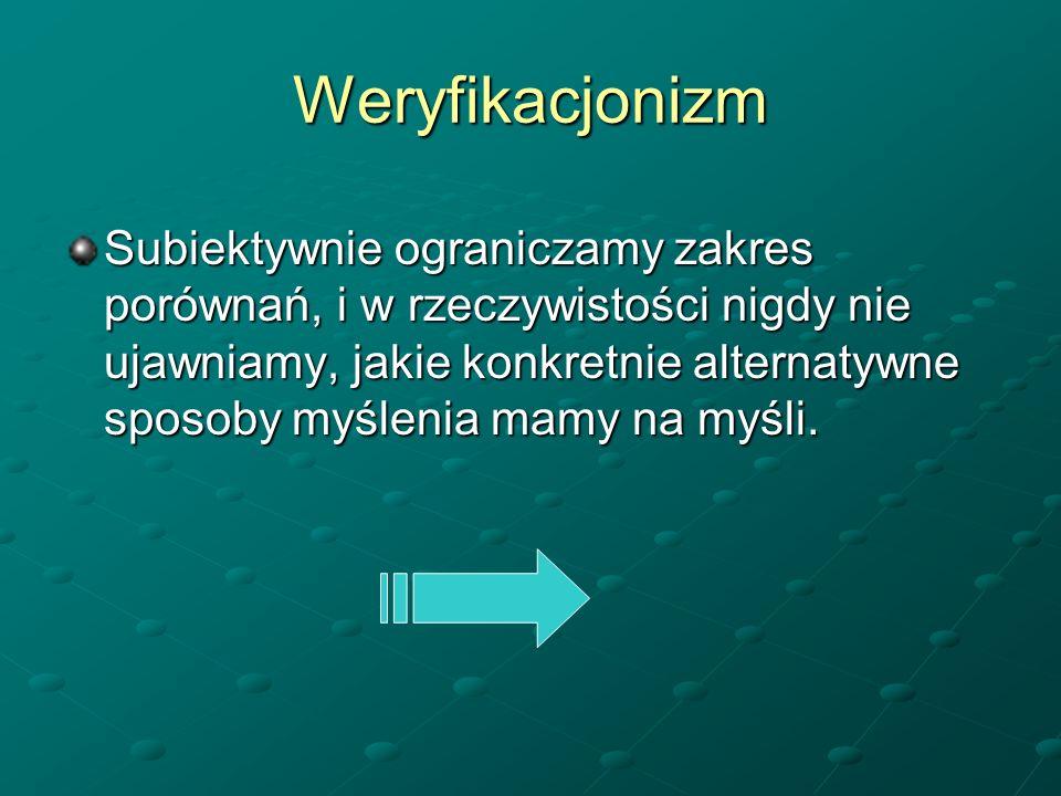 Weryfikacjonizm