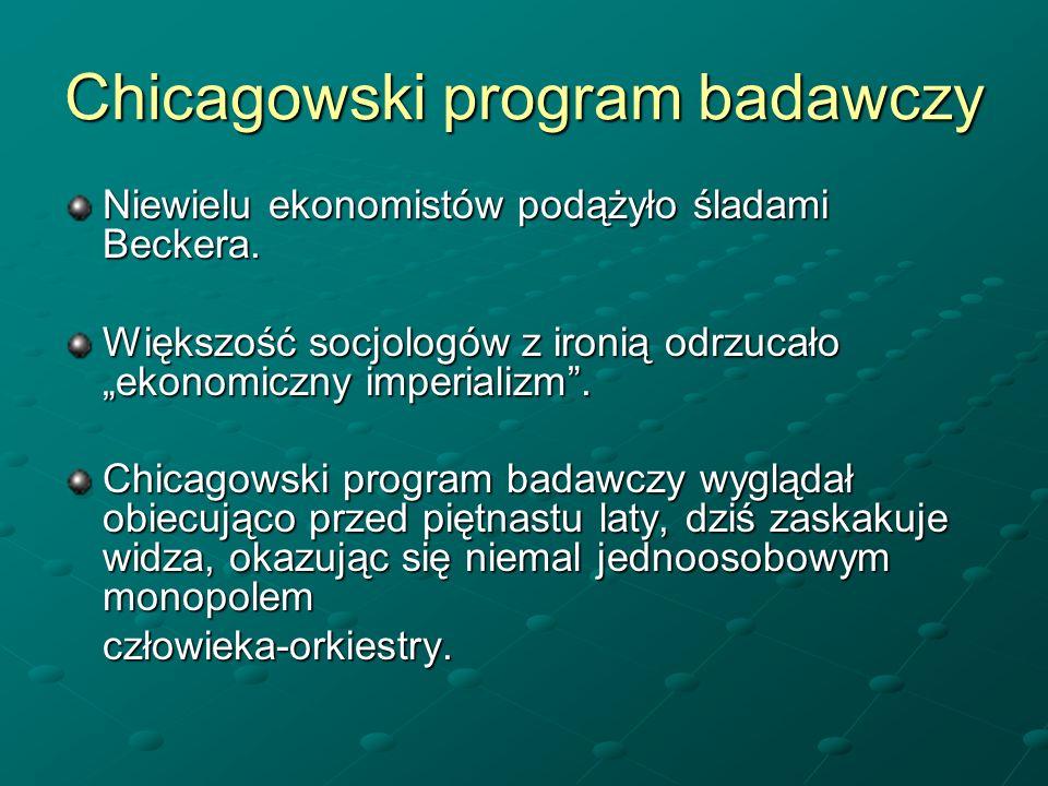 Chicagowski program badawczy
