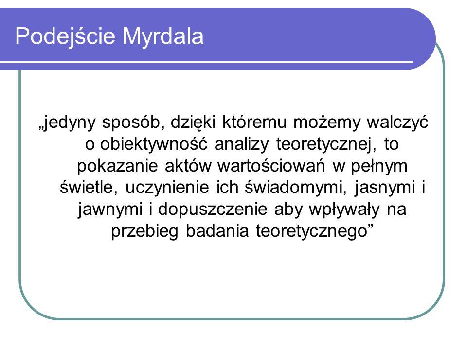 Podejście Myrdala