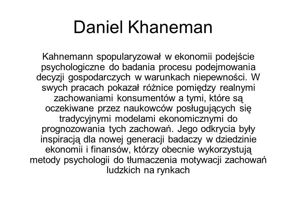 Daniel Khaneman