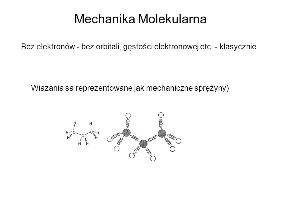 Mechanika Molekularna