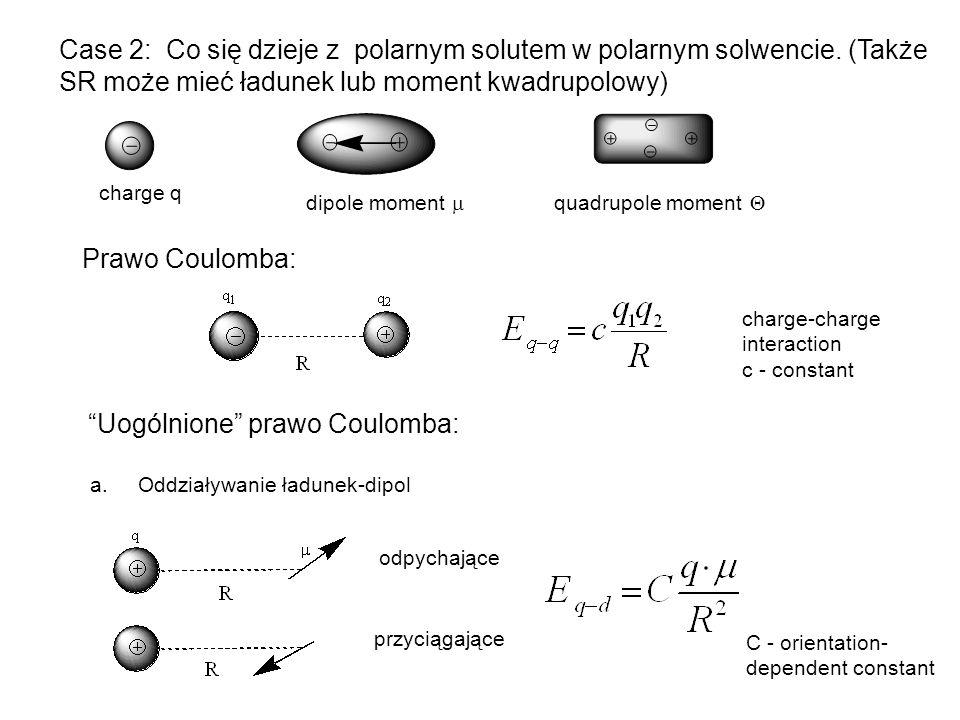 Uogólnione prawo Coulomba: