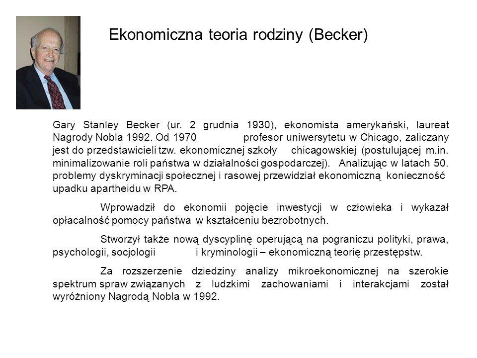 Ekonomiczna teoria rodziny (Becker)