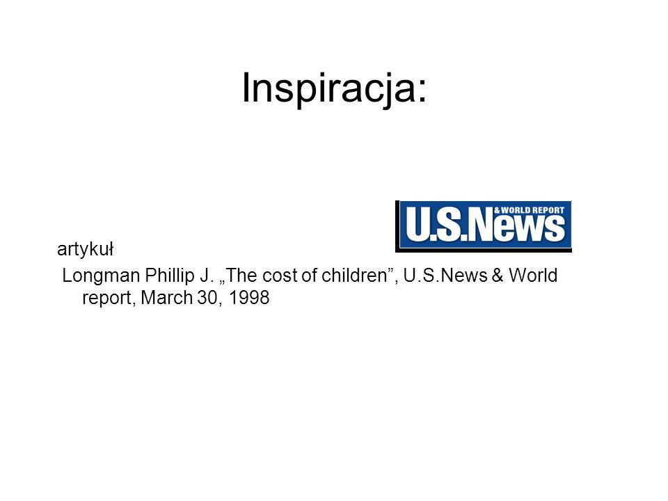 Inspiracja: artykuł. Longman Phillip J.