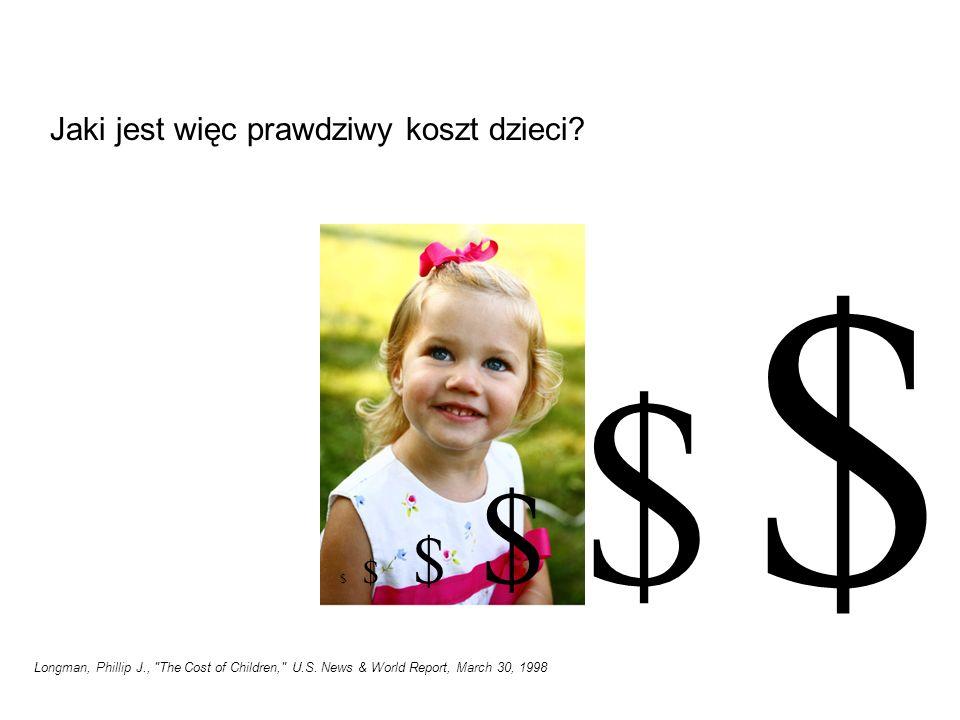 Jaki jest więc prawdziwy koszt dzieci