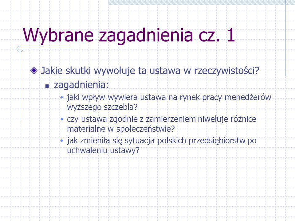 Wybrane zagadnienia cz. 1