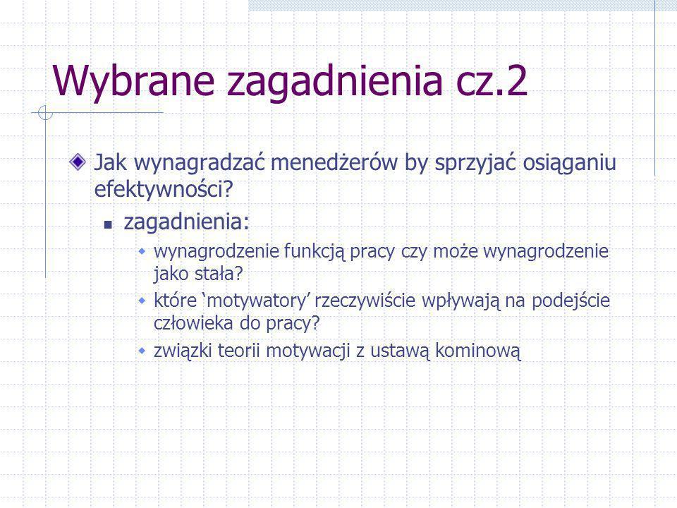 Wybrane zagadnienia cz.2