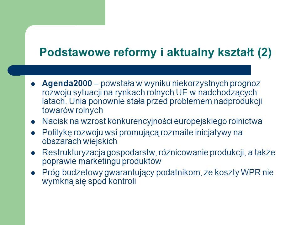 Podstawowe reformy i aktualny kształt (2)