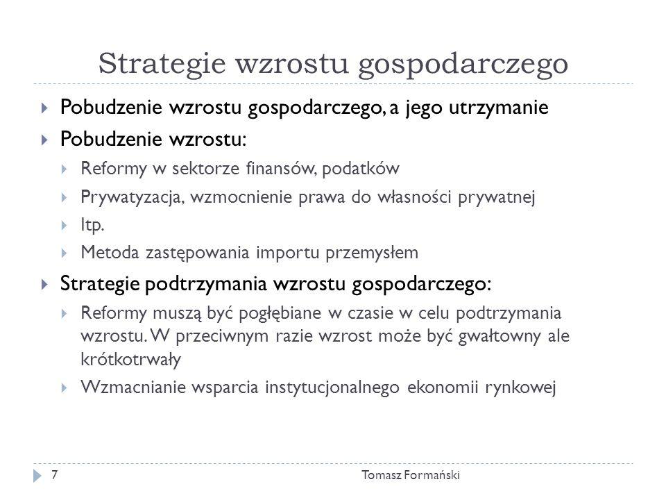 Strategie wzrostu gospodarczego