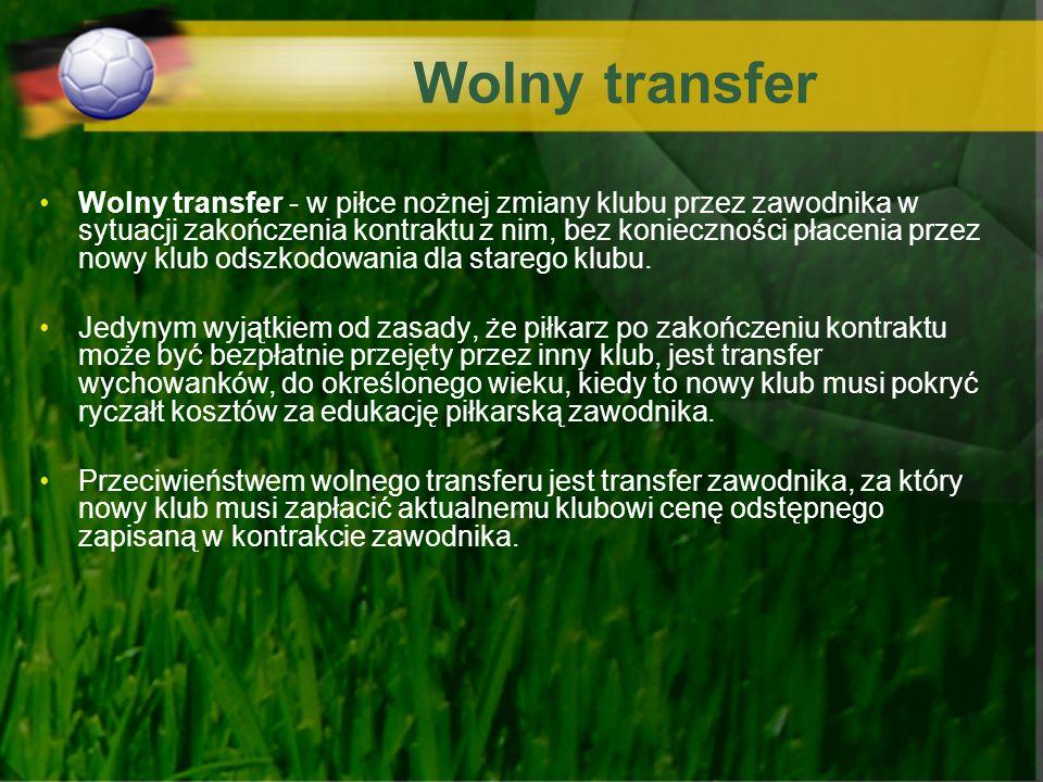 Wolny transfer