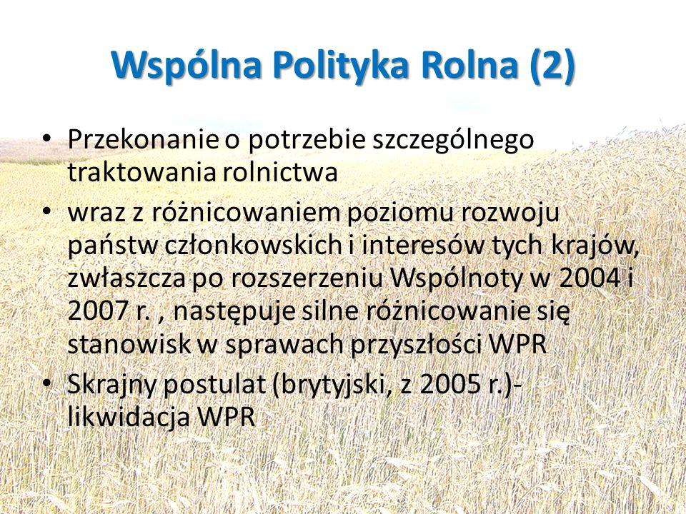 Wspólna Polityka Rolna (2)