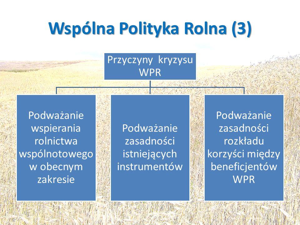 Wspólna Polityka Rolna (3)