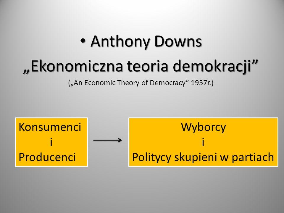 """""""Ekonomiczna teoria demokracji"""