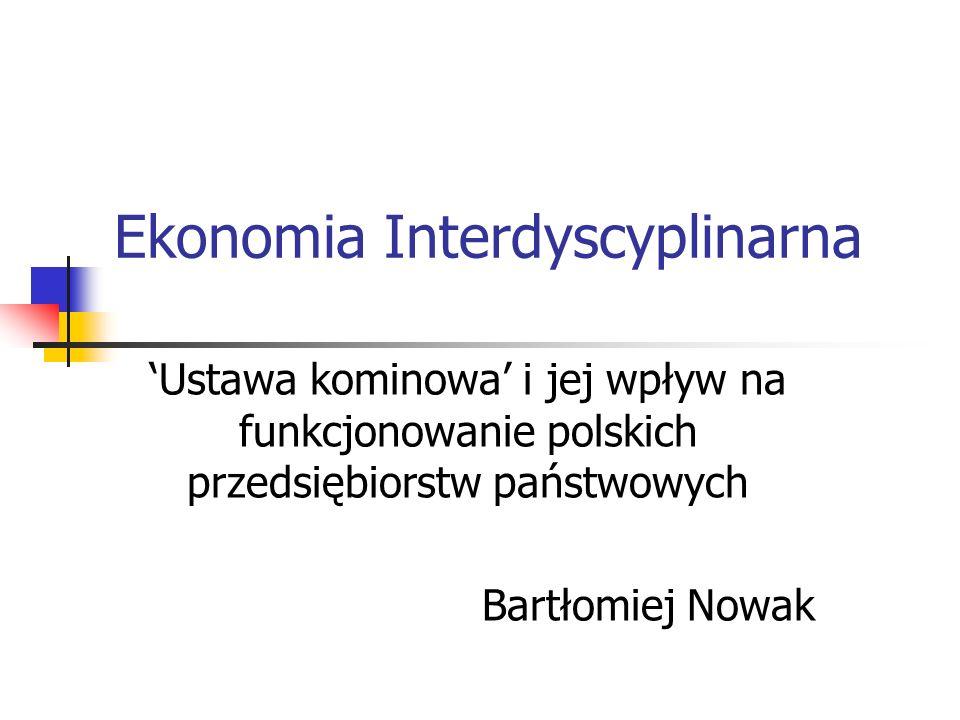 Ekonomia Interdyscyplinarna