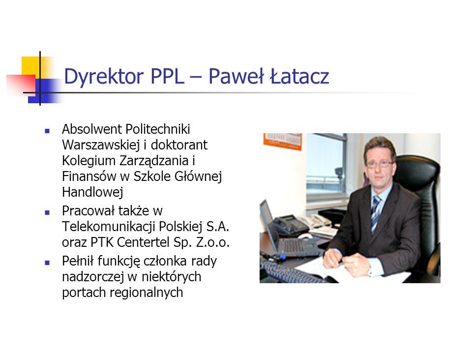 Dyrektor PPL – Paweł Łatacz