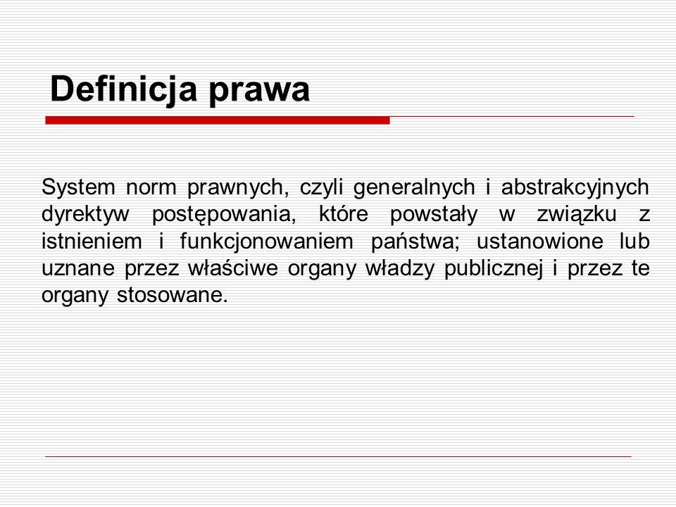 Definicja prawa