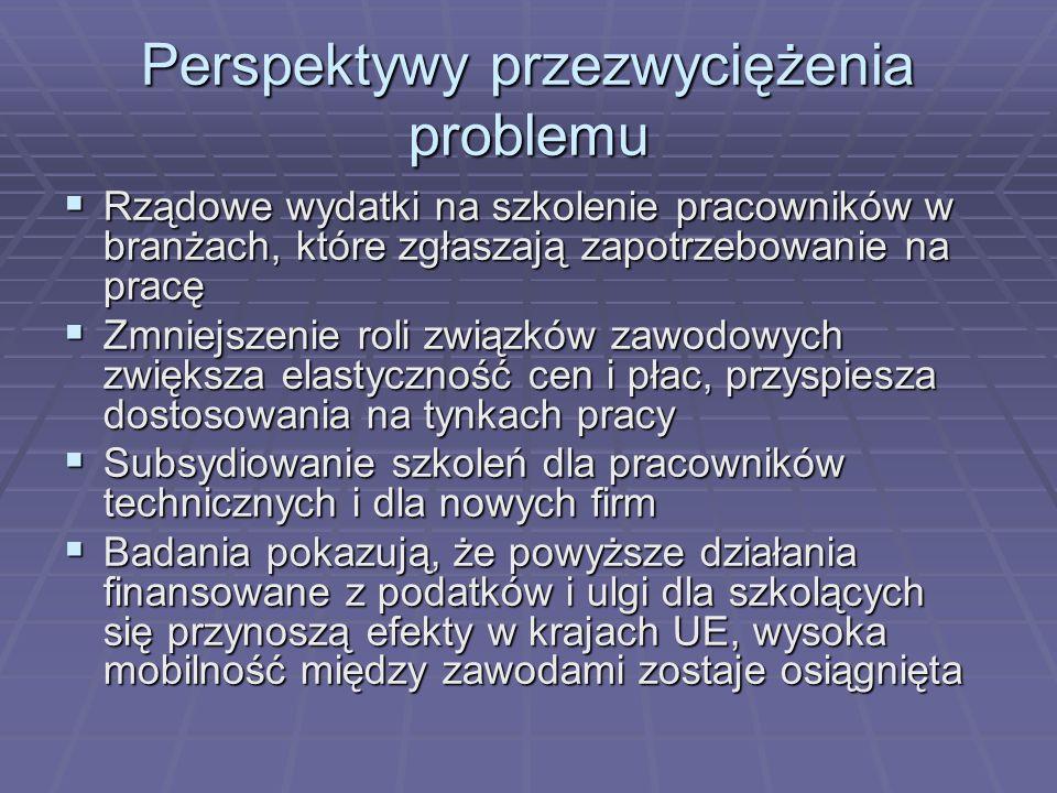 Perspektywy przezwyciężenia problemu