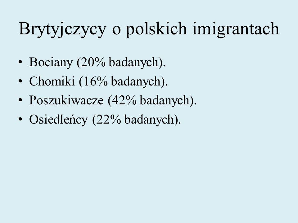 Brytyjczycy o polskich imigrantach