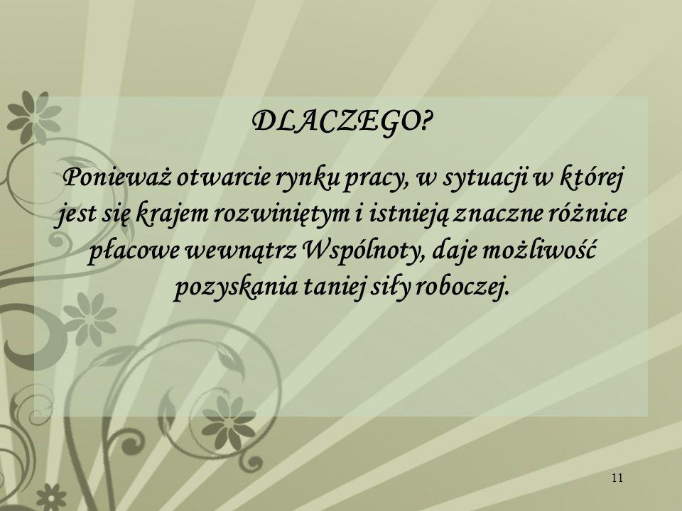 DLACZEGO