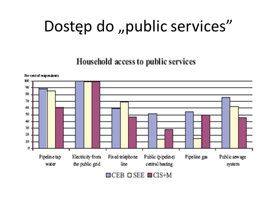"Dostęp do ""public services"