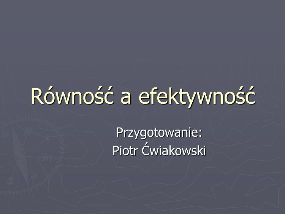 Przygotowanie: Piotr Ćwiakowski