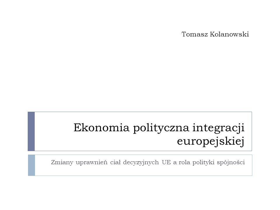 Ekonomia polityczna integracji europejskiej
