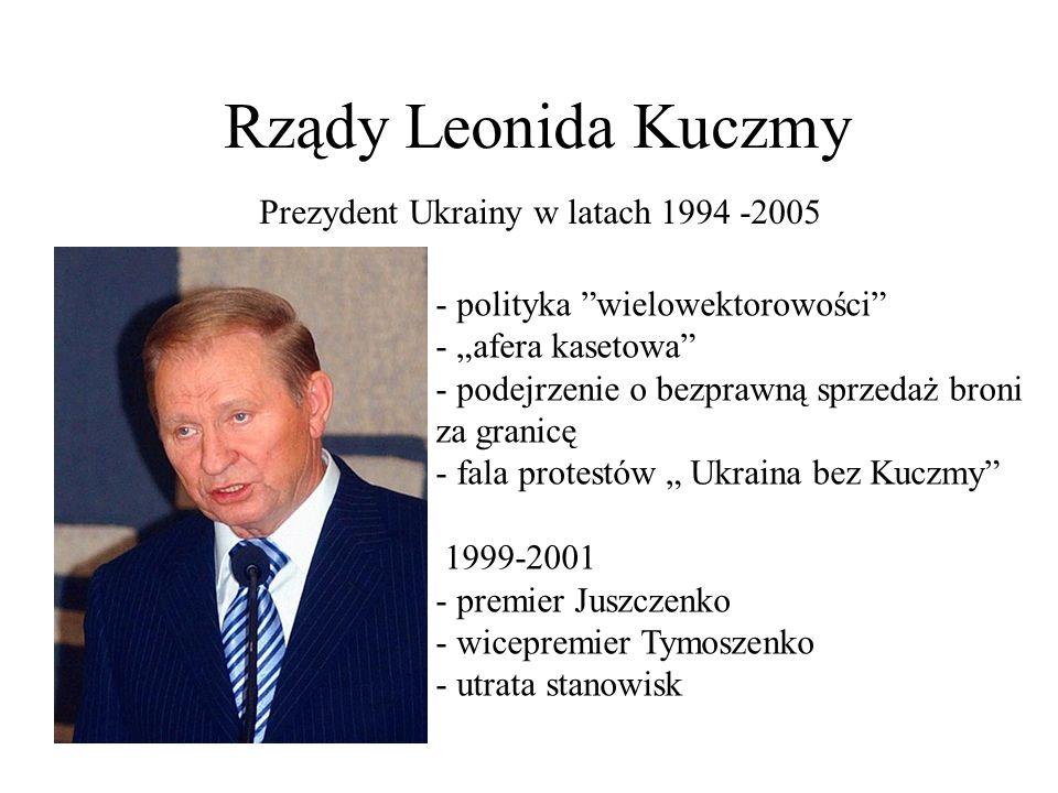 Prezydent Ukrainy w latach 1994 -2005