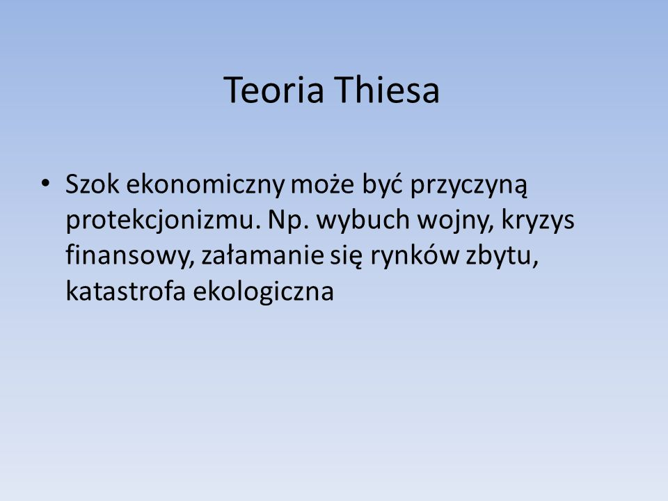 Teoria Thiesa