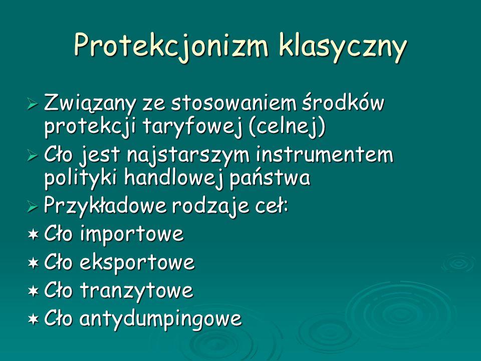 Protekcjonizm klasyczny