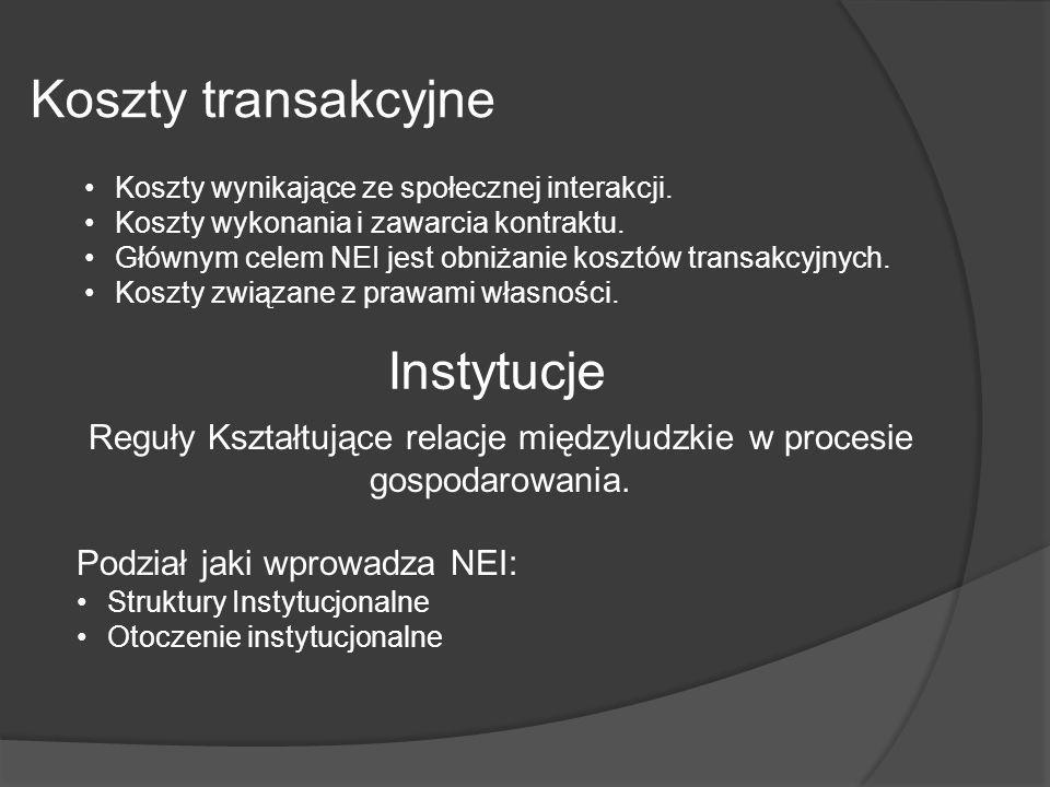 Reguły Kształtujące relacje międzyludzkie w procesie gospodarowania.