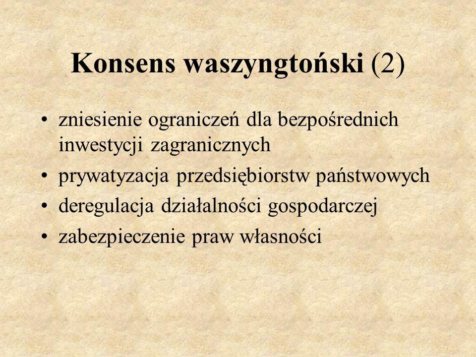 Konsens waszyngtoński (2)