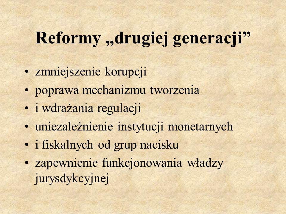 """Reformy """"drugiej generacji"""