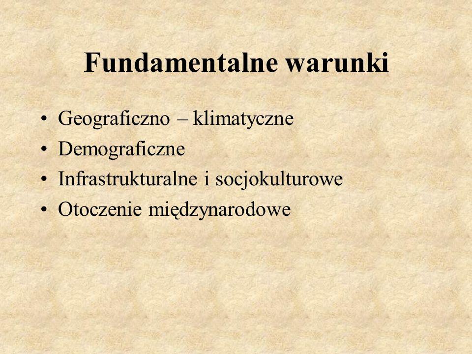 Fundamentalne warunki