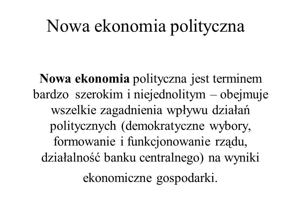 Nowa ekonomia polityczna