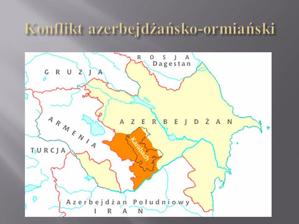 Konflikt azerbejdżańsko-ormiański