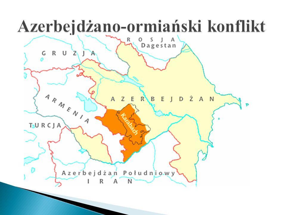 Azerbejdżano-ormiański konflikt