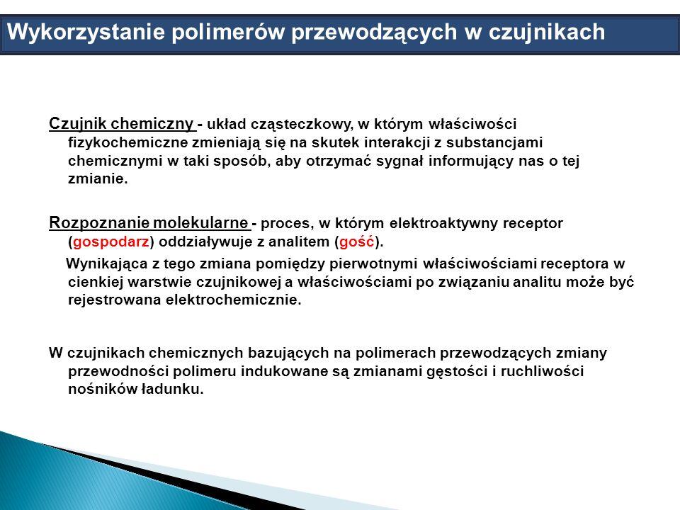Wykorzystanie polimerów przewodzących w czujnikach