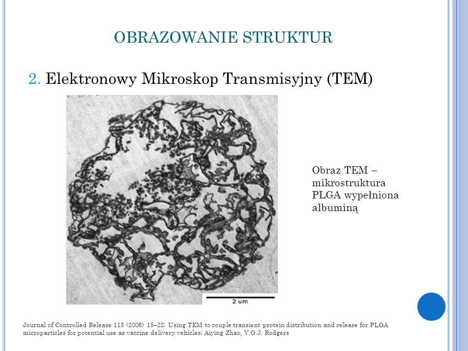 2. Elektronowy Mikroskop Transmisyjny (TEM)