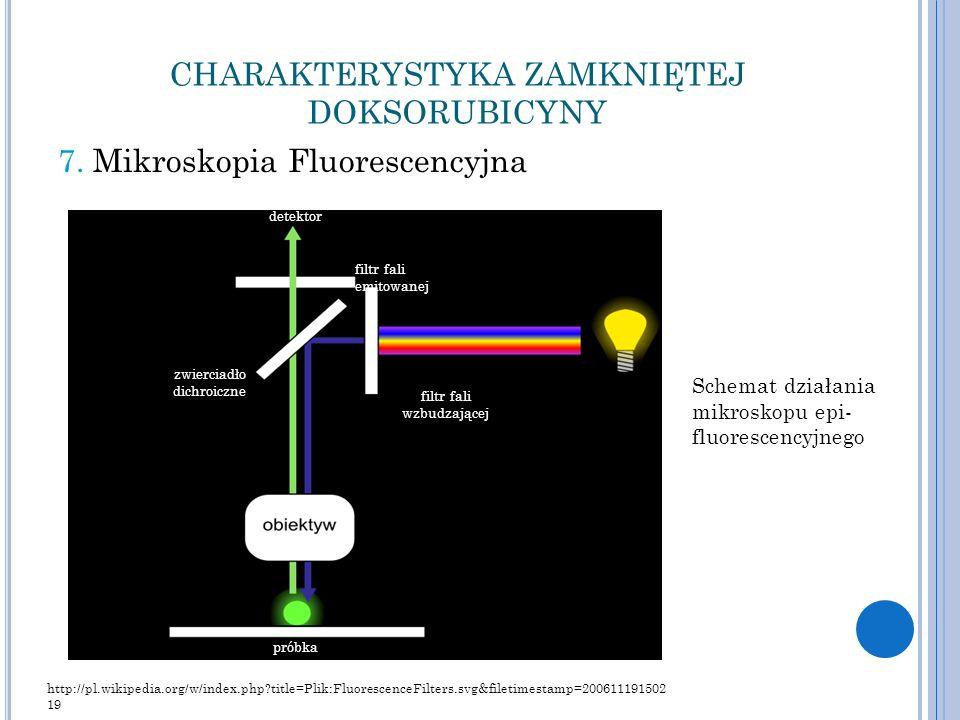 CHARAKTERYSTYKA ZAMKNIĘTEJ DOKSORUBICYNY