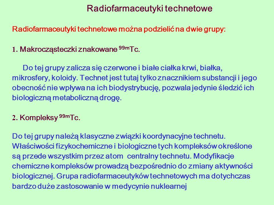 Radiofarmaceutyki technetowe