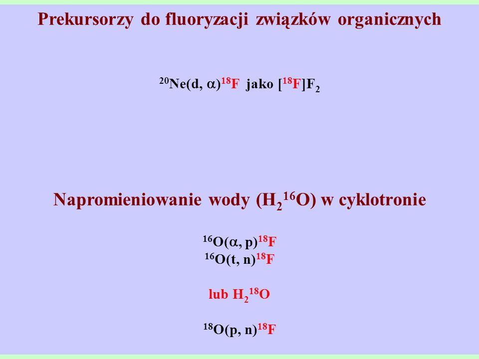Prekursorzy do fluoryzacji związków organicznych