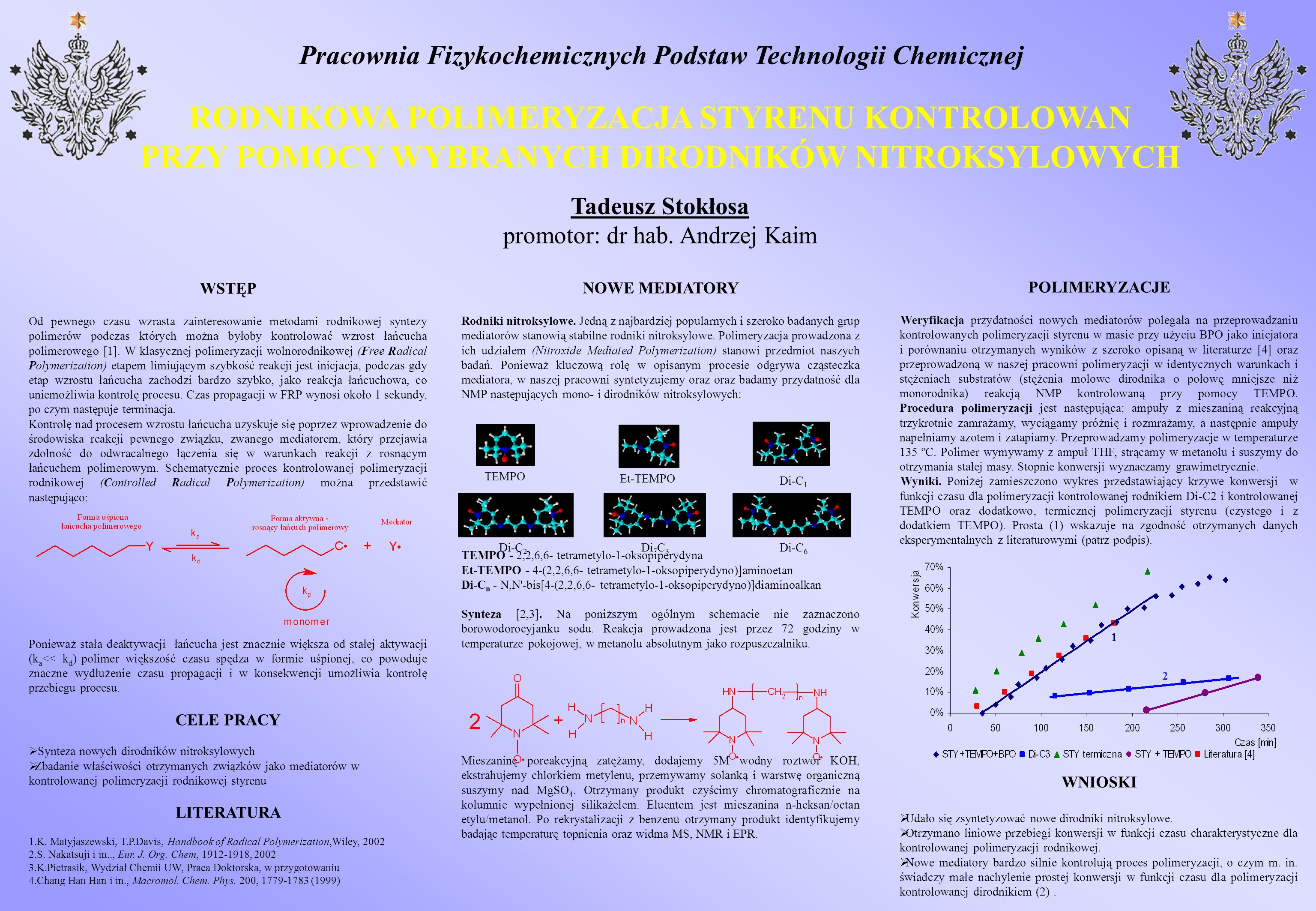 Pracownia Fizykochemicznych Podstaw Technologii Chemicznej
