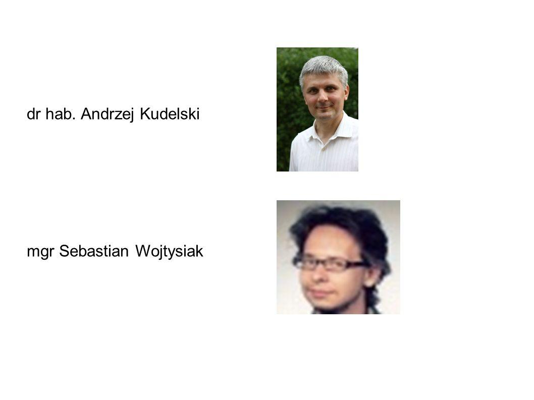 dr hab. Andrzej Kudelski