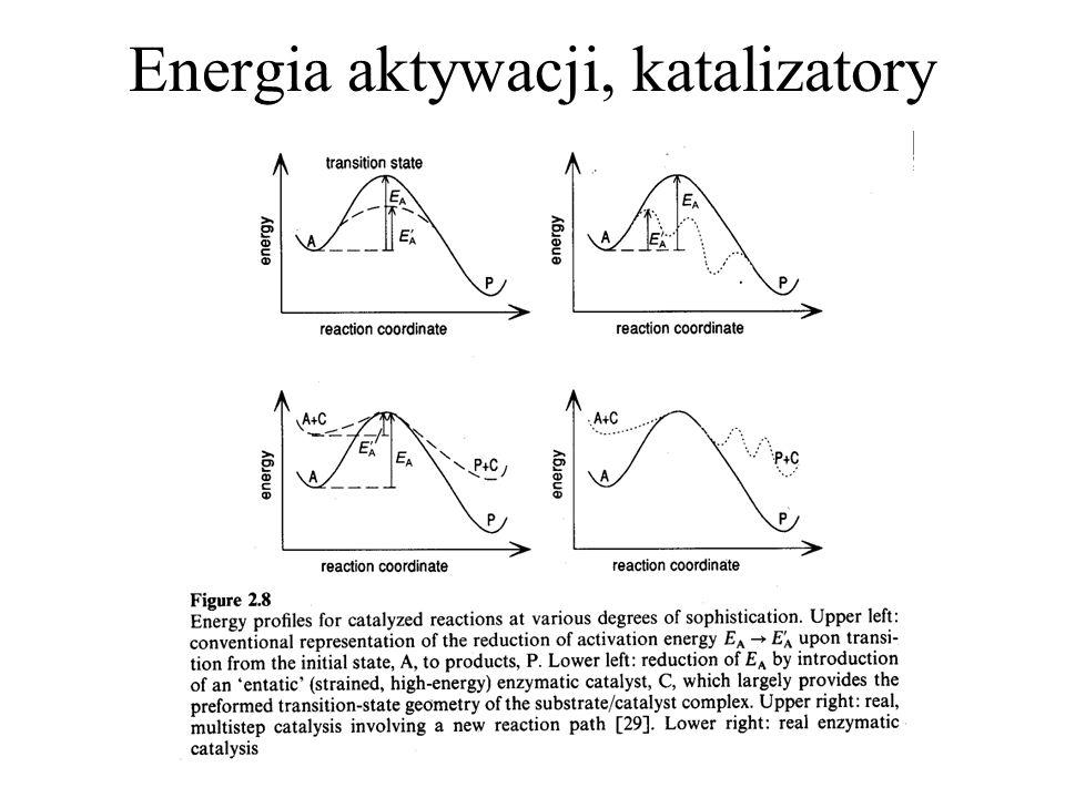 Energia aktywacji, katalizatory