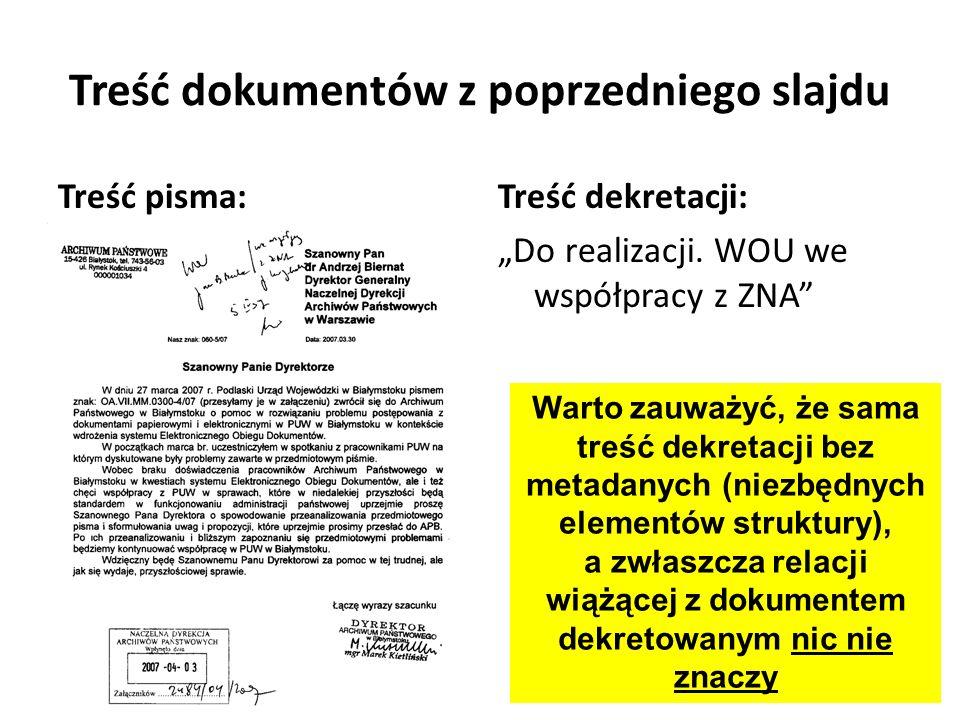Treść dokumentów z poprzedniego slajdu