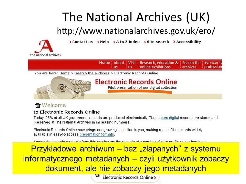 The National Archives (UK) http://www.nationalarchives.gov.uk/ero/
