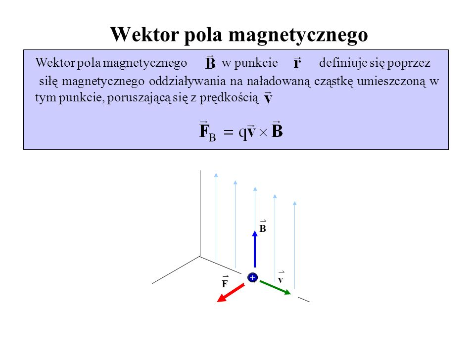 Wektor pola magnetycznego